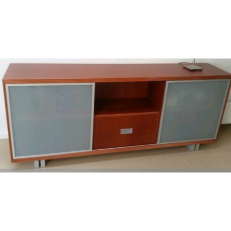 Teakhouten dressoir fifties