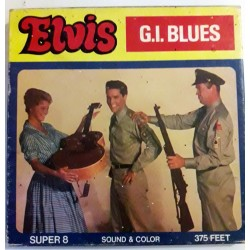 Super8 8mm film Elvis in G.I. Blues