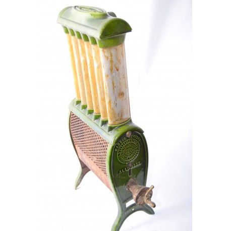 Emaille radiator uit 1922