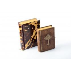 2 antieke gebedenboeken 1848-1860