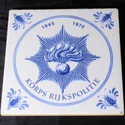 Tegel Korps Rijkspolitie 1945 1970