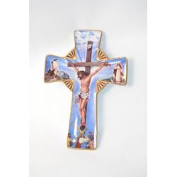 Crucifix keramiek Franklin Mint