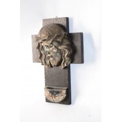 Wijwaterbalkje met Jezus