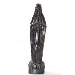 Beeld Maria hout zwart