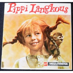 Viewmaster schijfjes Pippi Langkous D113
