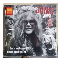 Janis Joplin: Live In Amsterdam Apr.11 1969 + US Radio Shows 1969 - 70 (180g) (colour vinyl)
