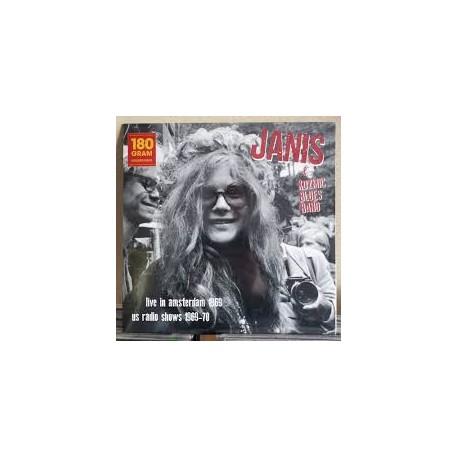 Janis Joplin: Live In Amsterdam Apr.11 1969 + US Radio Shows 1969 - 70 (180g) (colour vinyl)