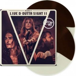 DeWolff: Live & Outta Sight II (180g) (Limited Edition) (Brown Cream Split Vinyl)
