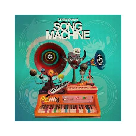 Gorillaz: Song Machine Season One: Strange Timez (Indie Retail Exclusive) (Limited Edition) (Orange Vinyl)