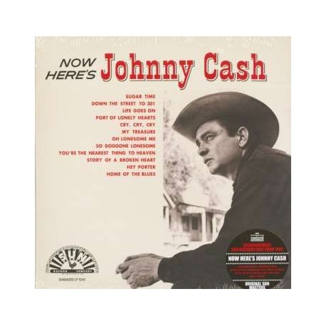 Johnny Cash: Now Here's Johnny Cash (mono)