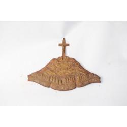 Bronzen plaquette - Heilig jaar 1933-1934 - Paus Pius XI