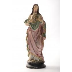 Beeld van Jezus met het Heilige Hart