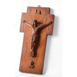 Houten Crucifix Amsterdamse School