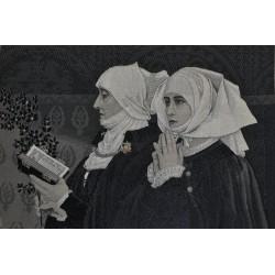 Stevengraph - Antiek Frans zijdeschilderij