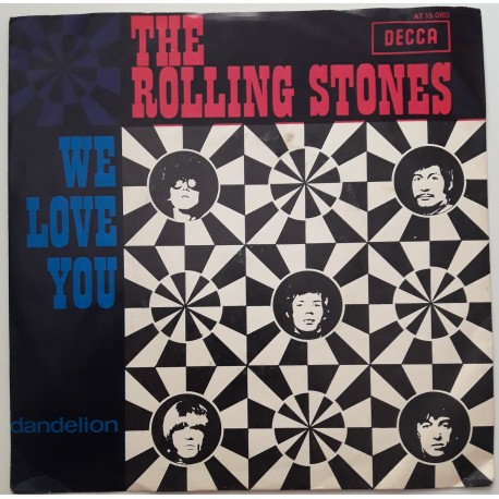 The Rolling Stones – We Love You / Dandelion