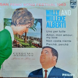 Willy and Willeke Alberti - EP San Remo 1963