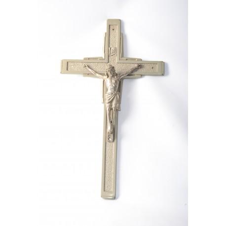 Crucifix voor een lijkwagen