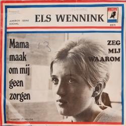 Els Wennink - Mama maak om mij geen zorgen
