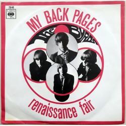 Byrds - My Back Pages / Renaissance Fair