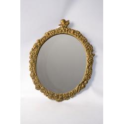 Spiegel wandspiegel met barok Cupido