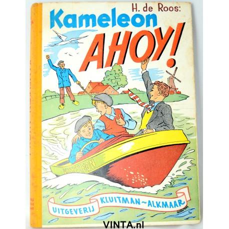 Boek Kamelon Ahoy - 1e druk